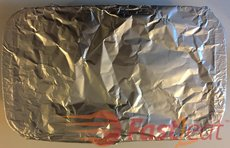 "Cover with Aluminum foil and bake for 30 minutes or until the cheese melts in the preheated oven to 400 degrees F (204 degrees C). <a target=""_blank"" href=""https://www.amazon.ca/gp/product/B0776ZZMRV/ref=as_li_tl?ie=UTF8&camp=15121&creative=330641&creativeASIN=B0776ZZMRV&linkCode=as2&tag=fast2eat06-20&linkId=3a53eb82406078eae52fe0d98c26a899"">Aluminum Foil</a><img src=""//ir-ca.amazon-adsystem.com/e/ir?t=fast2eat06-20&l=am2&o=15&a=B0776ZZMRV"" width=""1"" height=""1"" border=""0"" alt="""" style=""border:none !important; margin:0px !important;"" /> is used to keep food moist and cook it evenly. If you leave your lasagna uncovered in the oven, it will become dry."