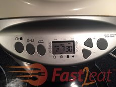 """Select """"French"""" bread setting. If available Choose crust color (I usually set Medium, but if you prefer set Light or Dark) and loaf size (2LB) and Press the Start button. With this bread it is safe to use the timer function."""
