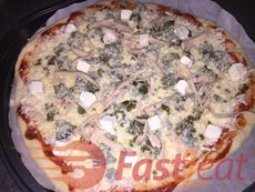 """Sprinkle toppings over sauce. At least 200g (0.5LB) of mozzarella cheese on each pizza. For inspirations, take a look at these <a href=""""http://fast2eat.com/pizza-toppings/"""">Pizza Toppings Fast2eat Suggestions</a>."""